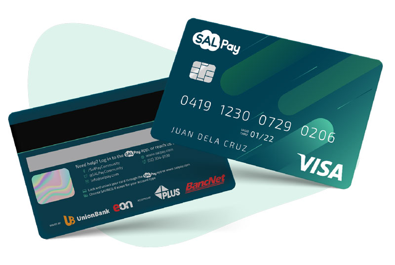 salpay visa debit card
